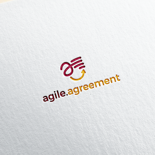 Document design with the title 'Fun Logo Concept for Agile Agreement'
