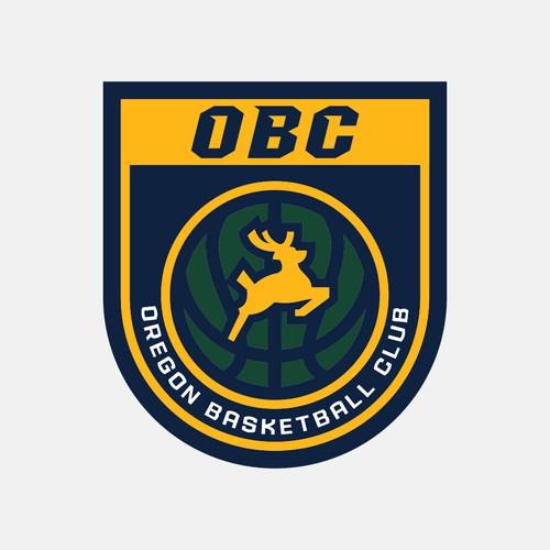 Oregon design with the title 'Oregon Basketball Club'