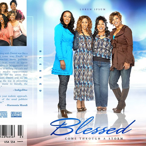 DVD cover design with the title 'CD cover '