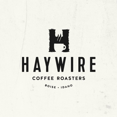 Craft logo with the title 'Craft logo design for a Coffee Roaster'