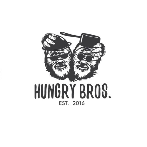 King Kong logo with the title 'Hungry Bros.'
