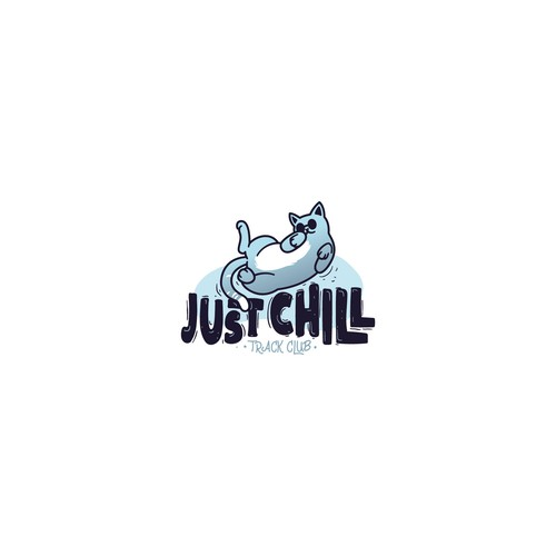 Chill logo with the title 'Just Chill - track club'