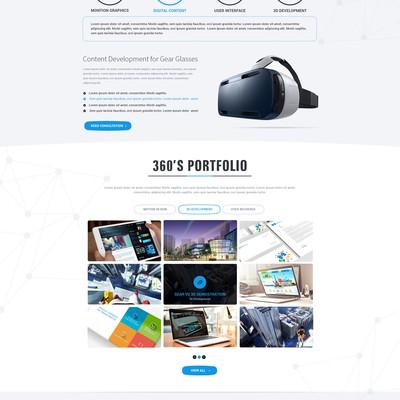 360 Studio Website Design