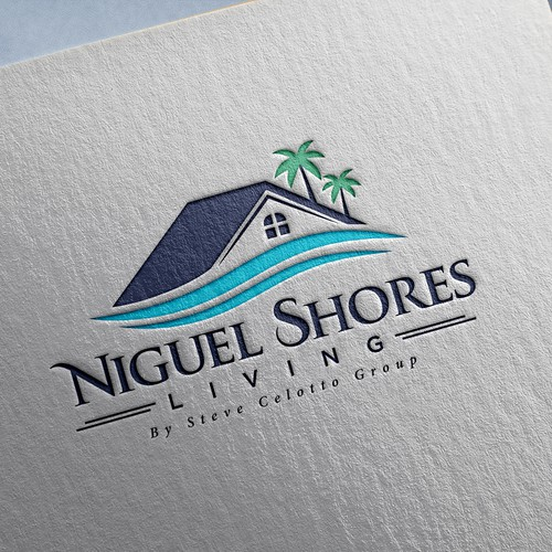 Living logo with the title 'Niguel Shores Living'