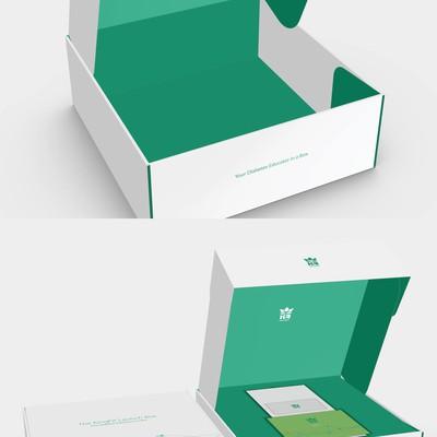 Mobile Application Box Design