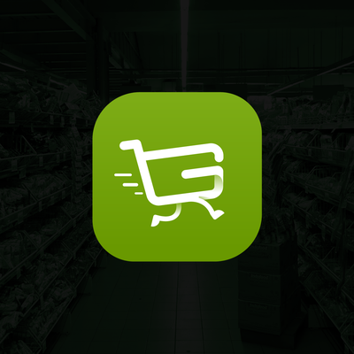 Grocery Online Shopping App logo/icon