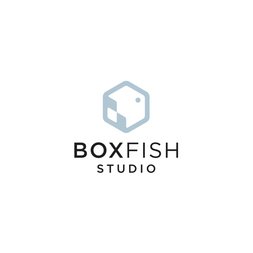 Cube logo with the title 'Boxfish Studio'