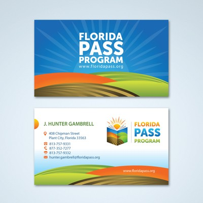 Create Business Cards for Florida PASS