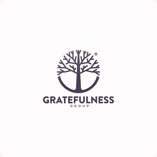 Tree design with the title 'Design for Gratefulness'