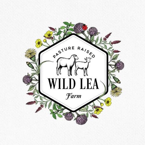 Plantation logo with the title 'Wild Lea Farm'