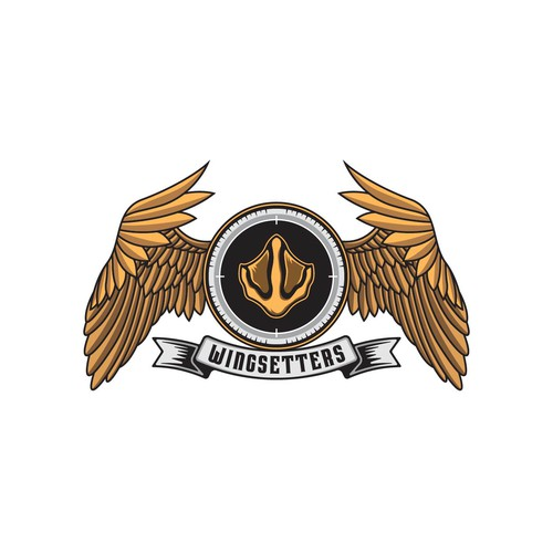 Hunter design with the title 'Wingsetters'