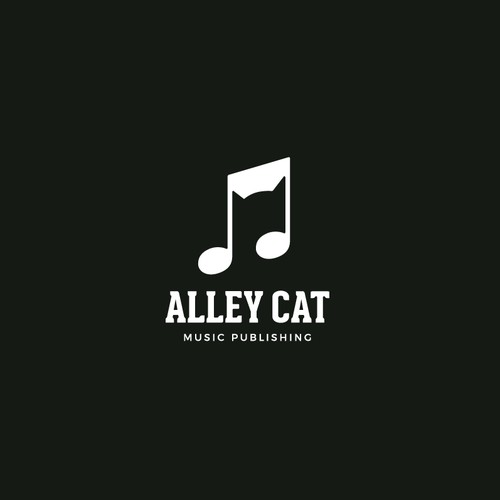 Cat logo with the title 'Alley Cat'