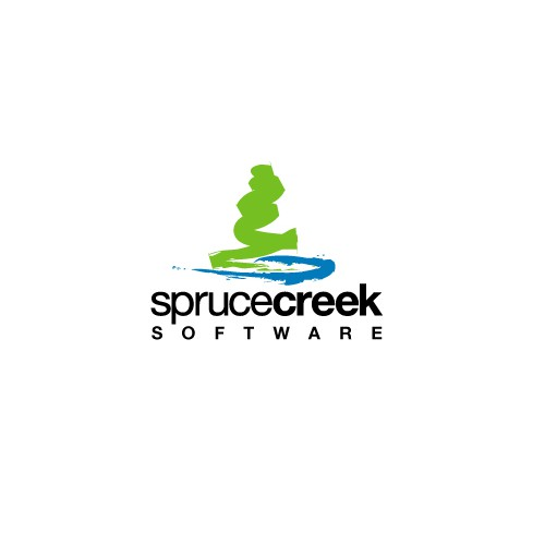 Spruce design with the title 'Logo concept for Spruce Creek Software. '