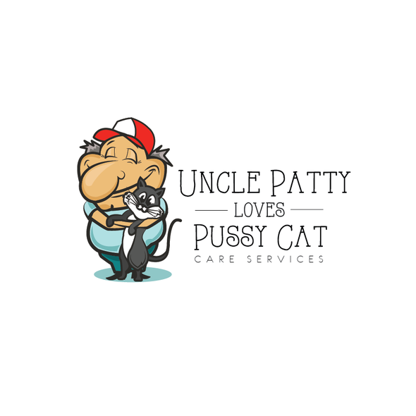 Service logo with the title 'Logo for Uncle Patty'