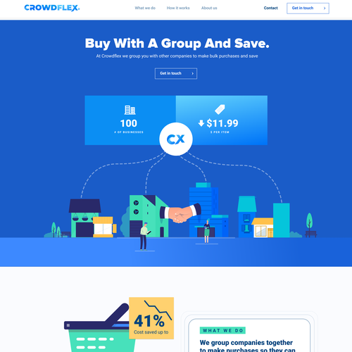 Shopify design with the title 'Design and Developed'
