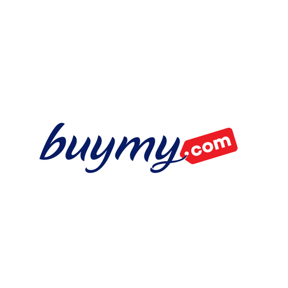 Domain logo with the title 'Logotype for buymy.com'