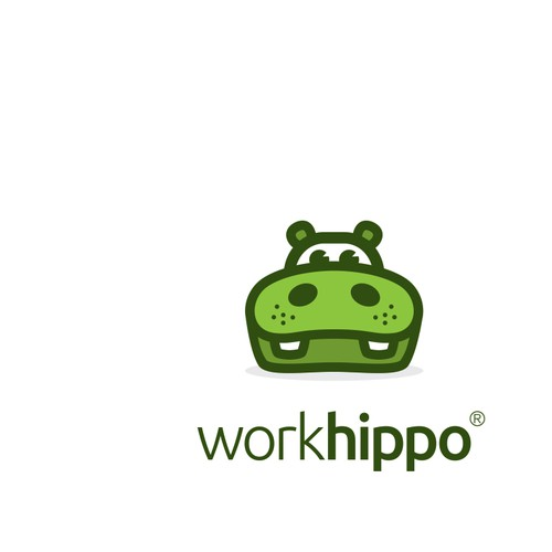 Work design with the title 'Logo design for African tech company WorkHippo'