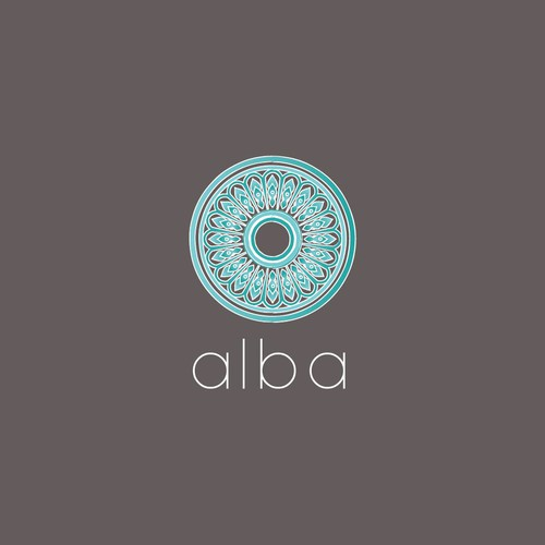 Staging logo with the title 'Logo design for Alba | Natural / rustic home furnishings'