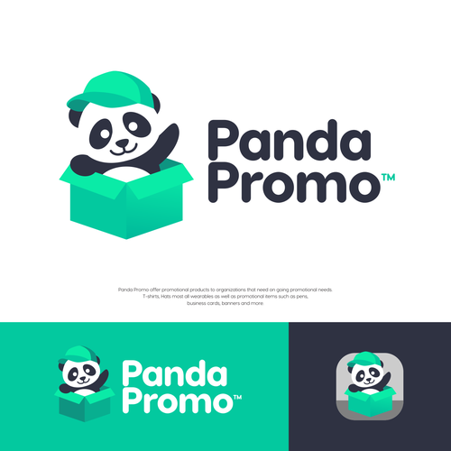 Green design with the title 'Panda Promo'