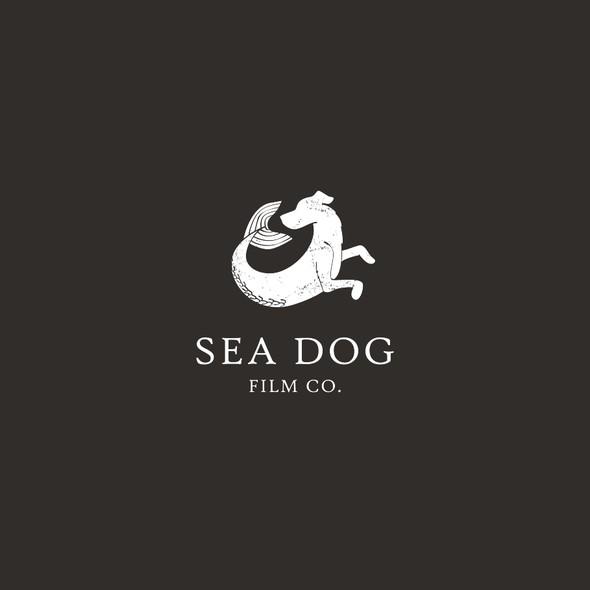 Sea creature design with the title 'Film Company Logo'