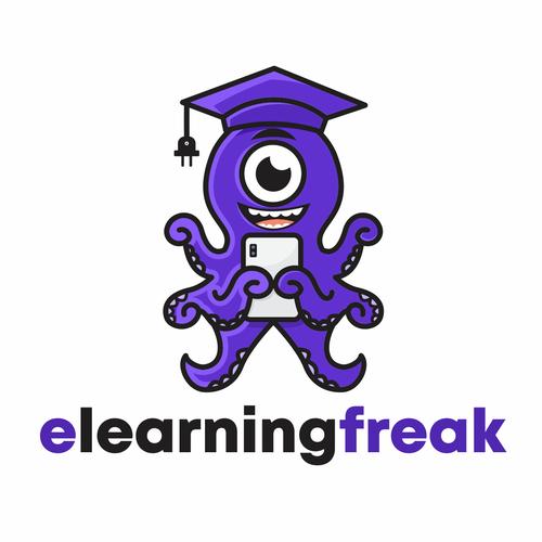 Gadget logo with the title 'elearningfreak'
