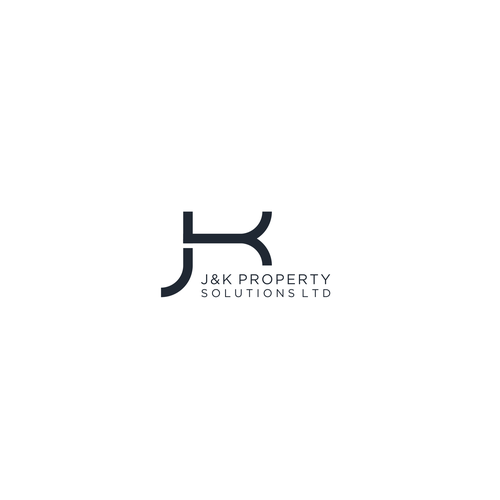 Property brand with the title 'jk logo concept'