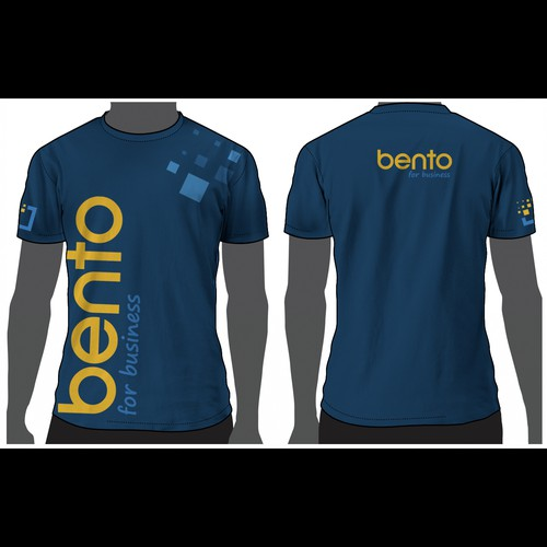 Edgy t-shirt with the title 'Bento for business'