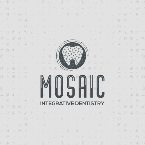 Mosaic logo with the title 'Mosaic Integrative Dentistry Logo'