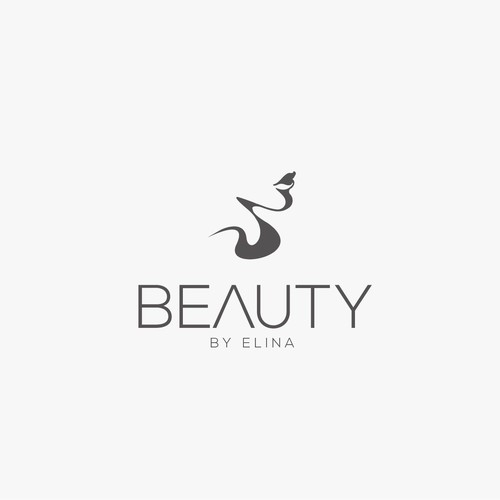 Makeup design with the title 'Clean logo design for a Makeup artist'