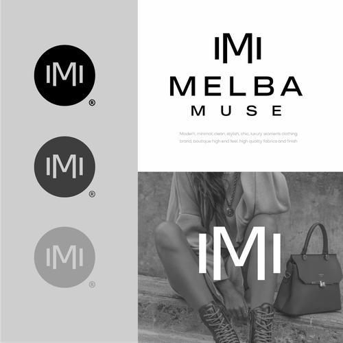 Chic logo with the title 'Melba Muse'
