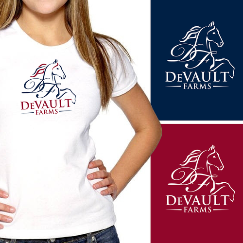 Equestrian design with the title 'Logo for an equestrian/horse business that portrays beauty, elegance & simplicity'