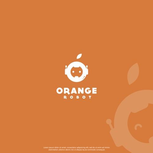 Bot design with the title 'Orange'