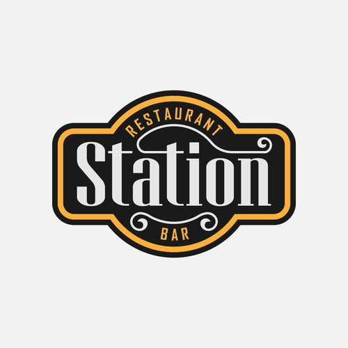 Neutral logo with the title 'Station Restaurant & Bar'