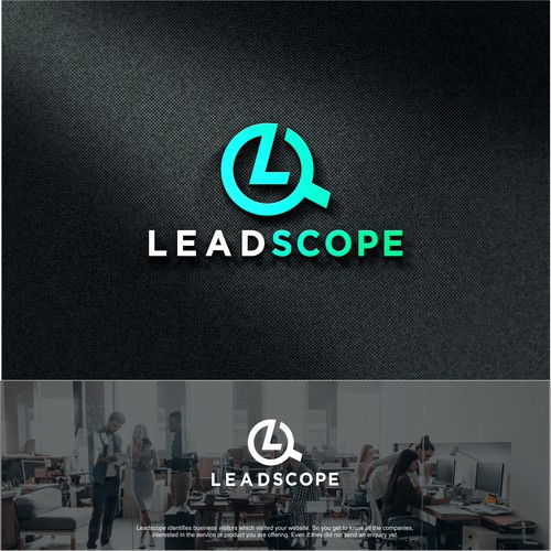 Scope logo with the title 'LeadScope '