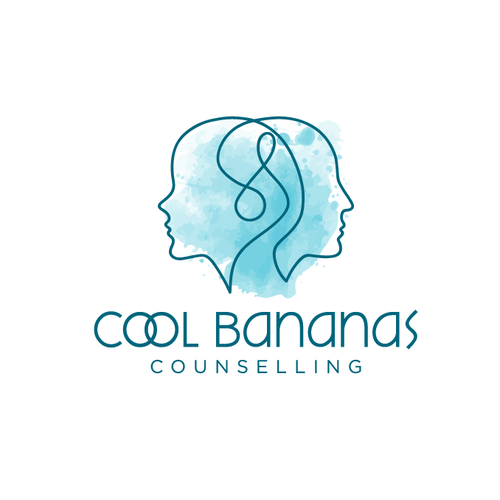 Feminine logo with the title 'Counselling/psychotherapy business'
