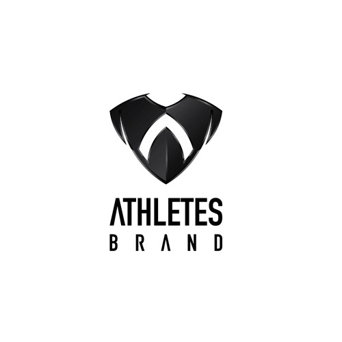 Team jersey logo with the title 'Athletes Brand needs a new logo'
