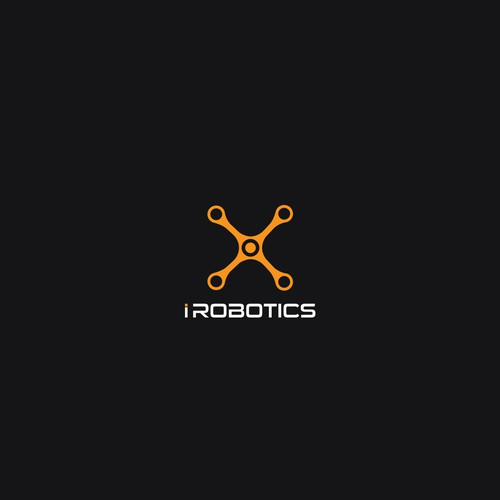 Propeller design with the title 'Industrial Robotics'