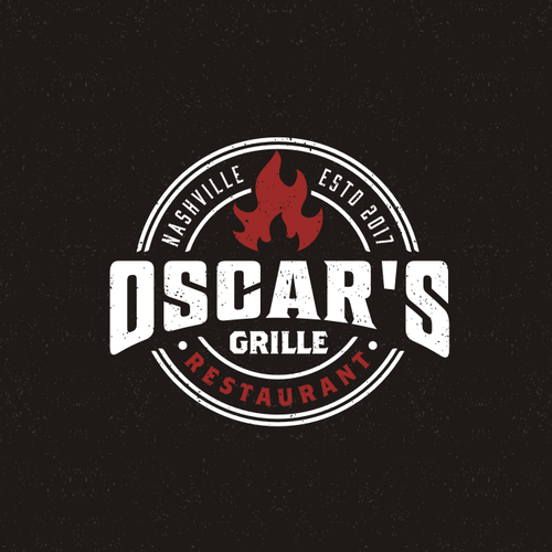 Ribs logo with the title 'Grill Restaurant'