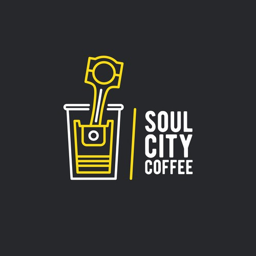 Soul logo with the title 'Logo for Soul City Coffee'