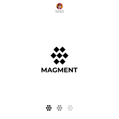 Wireless design with the title 'Magment Logo'
