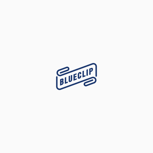 Accounting logo with the title 'Create a modern, vintage, kick-ass logo for BlueClip.'