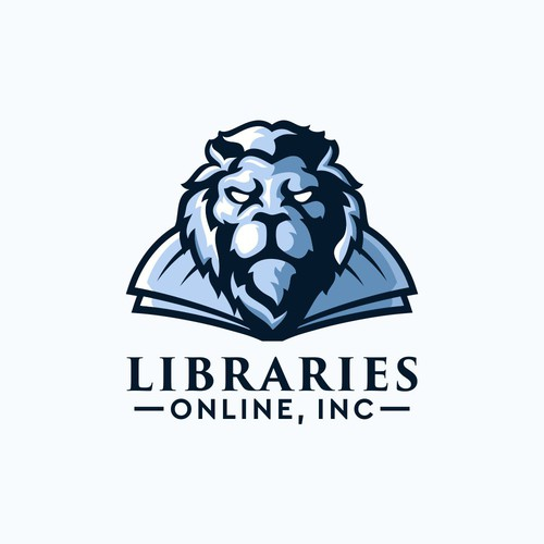 Lion head logo with the title 'LION LIBRARIES'