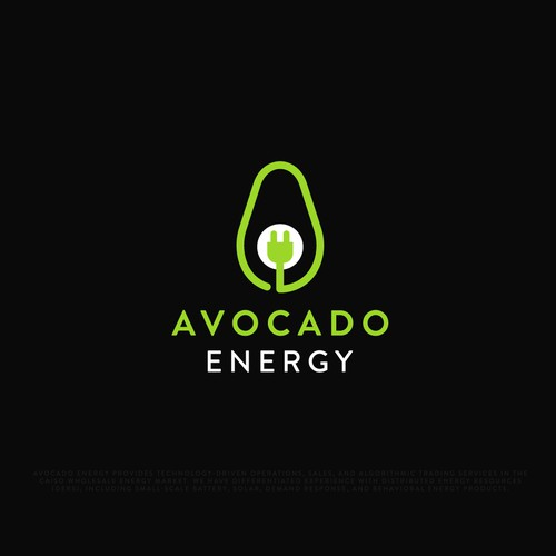Electricity design with the title 'Logo for Avocado Energy'
