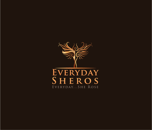 Community logo with the title 'Help Everyday Sheros with a new logo'