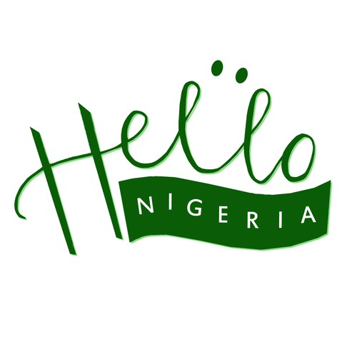 Hello logo with the title 'Hello Nigeria Celebration design for dakoja'