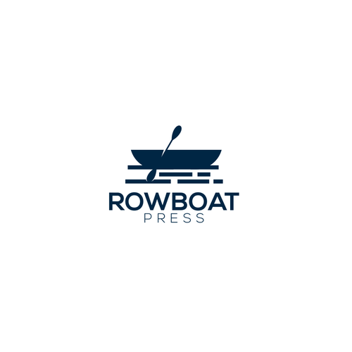 Press logo with the title 'Rowboat Press'