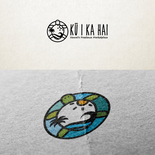 Turtle logo with the title 'Ku I Ka Hai'