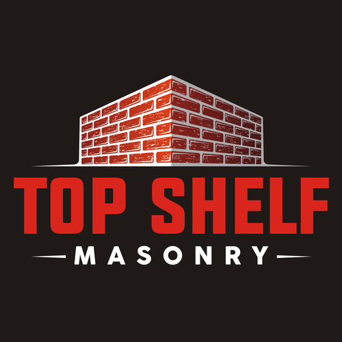 Brick logo with the title 'Top Shelf'
