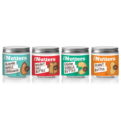 The Nutters label design