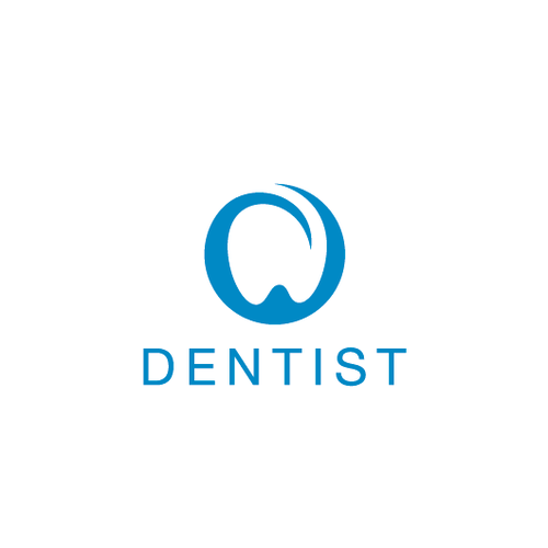 Tooth design with the title 'Dentiste'